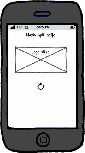 Portal grupne kupovine, Splash screen